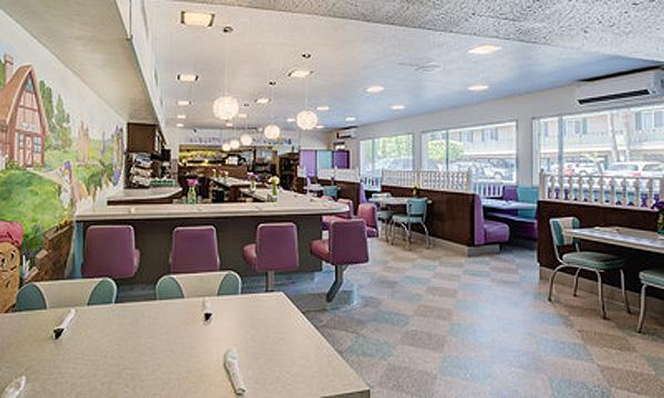 Restaurant VCT Flooring